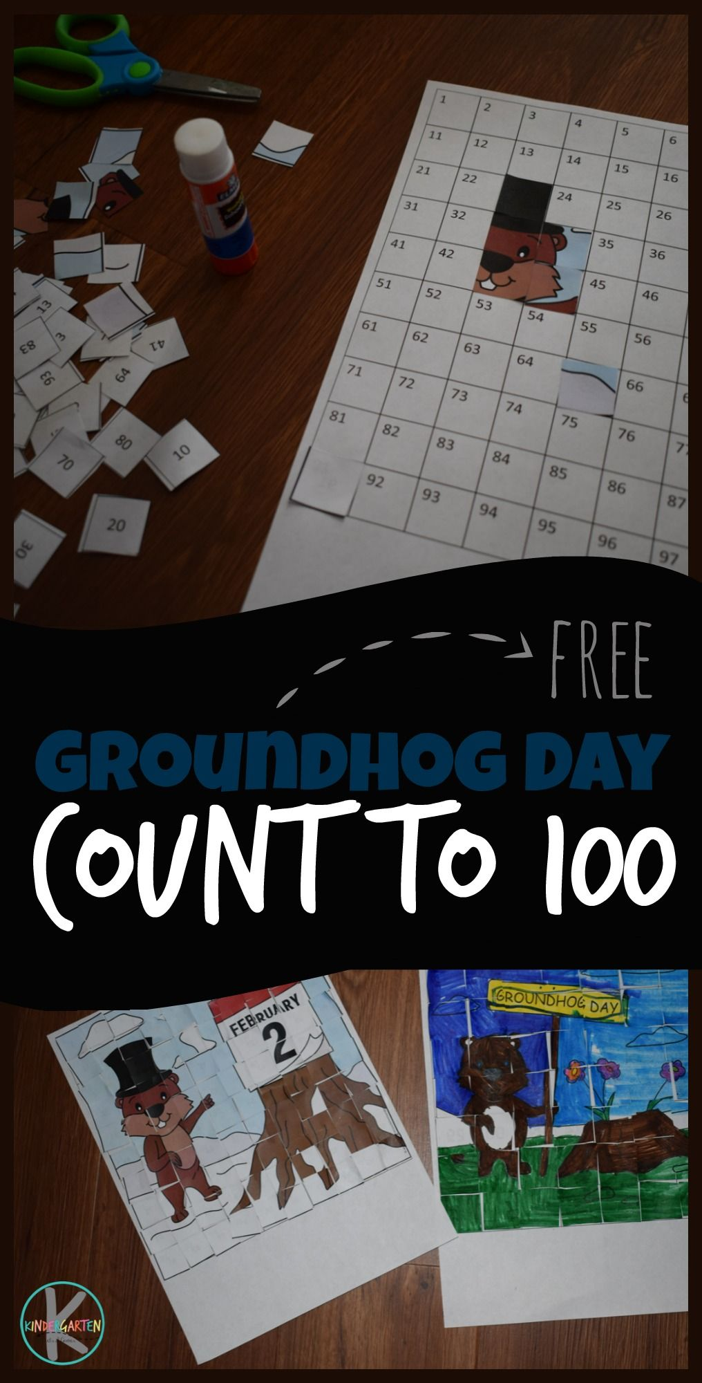 Free Groundhog Day Count To 100 Printables So Many Fun Clever Activities For Practici Counting Activities Kindergarten Groundhog Day Activities Groundhog Day [ 2000 x 1016 Pixel ]