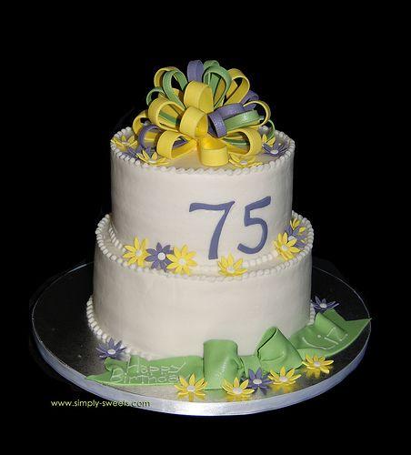 Best 25 75th Birthday Cakes Ideas On Pinterest 75