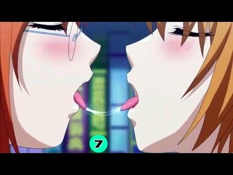 Sexy Anime Girls Kissing