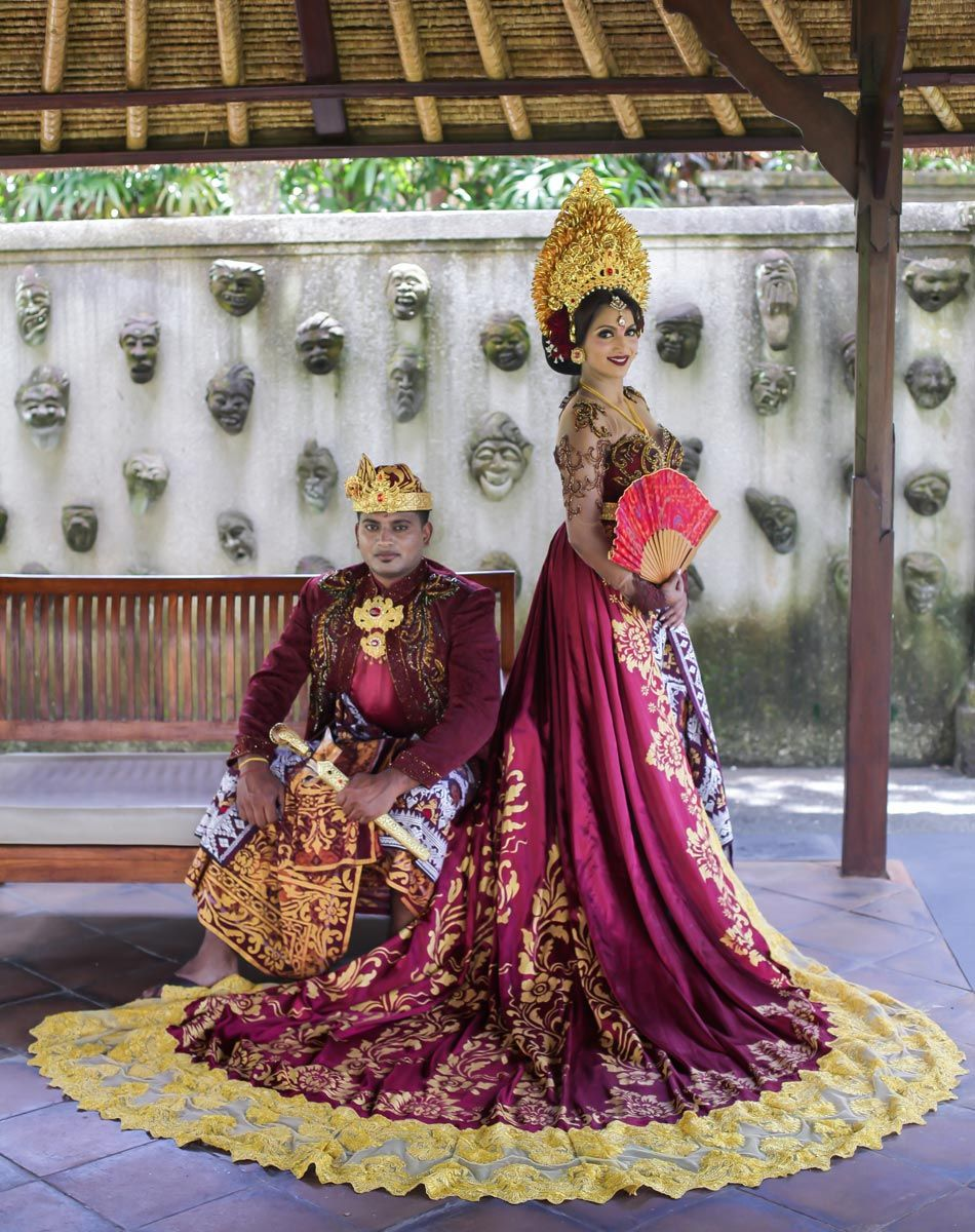 Anola and Wizley Indian Wedding Ceremony with Balinese