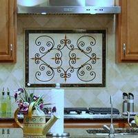 Portofino Tile Rug Floor Medallion Kitchen Backsplash Kitchen Tiles Backsplash Floor Medallion Tile Backsplash