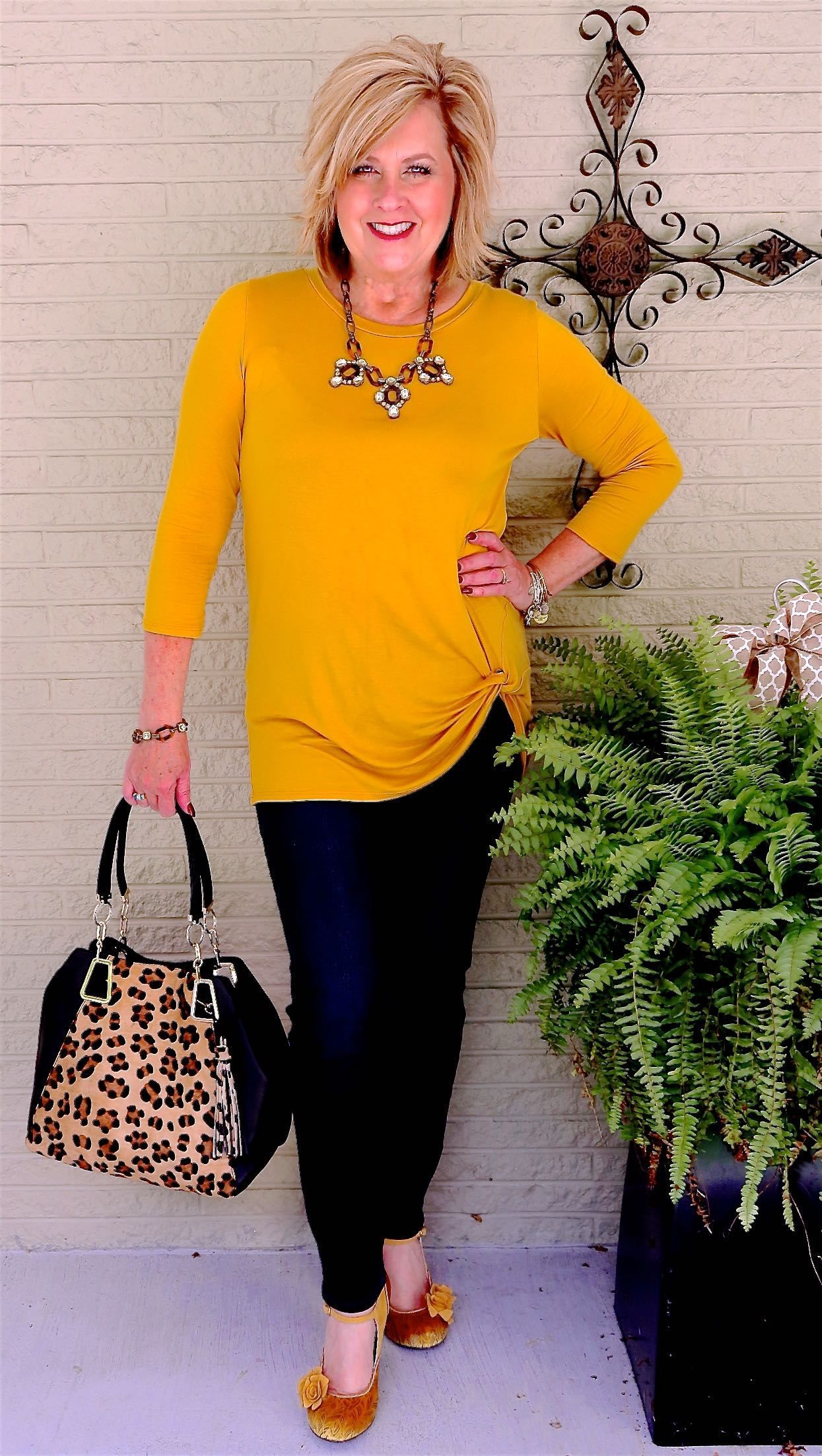 50 IS NOT OLD A TOP WITH A TWIST Over 50 womens