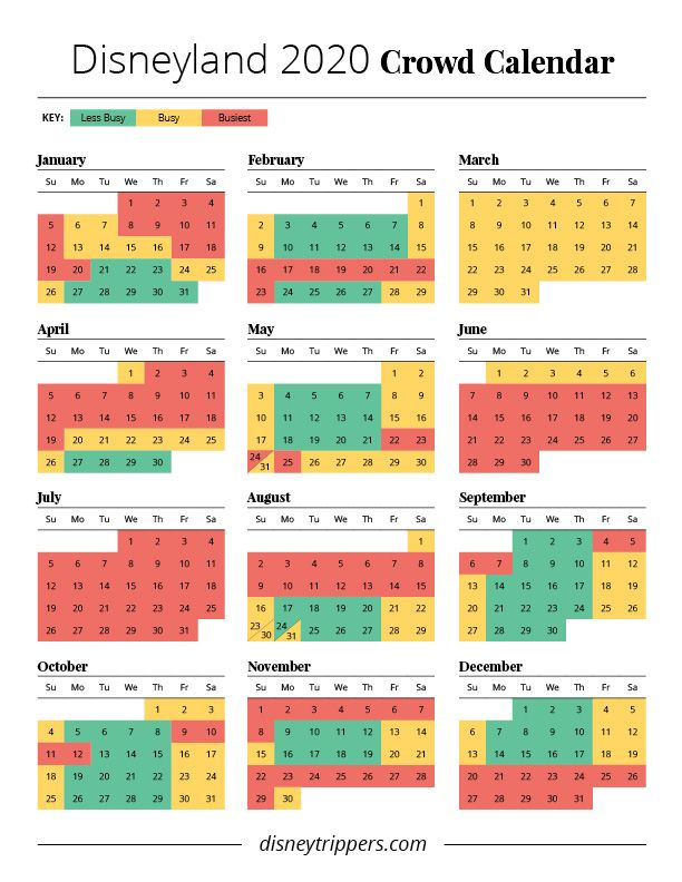 Photo of Disneyland Menge Kalender 2020 | beste Zeit, um nach Disneyland zu gehen | Crowd-Kalender …