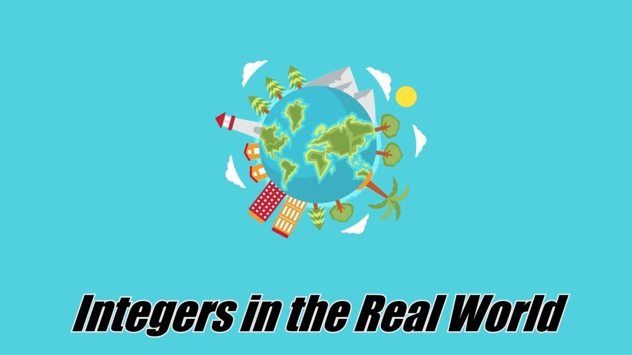 Integers in the Real World | 7.NS.A.1 | 7th Grade Math - YouTube ...
