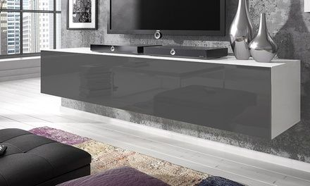 72% Off Rocco Floating TV Unit | Groupon | Living room decor
