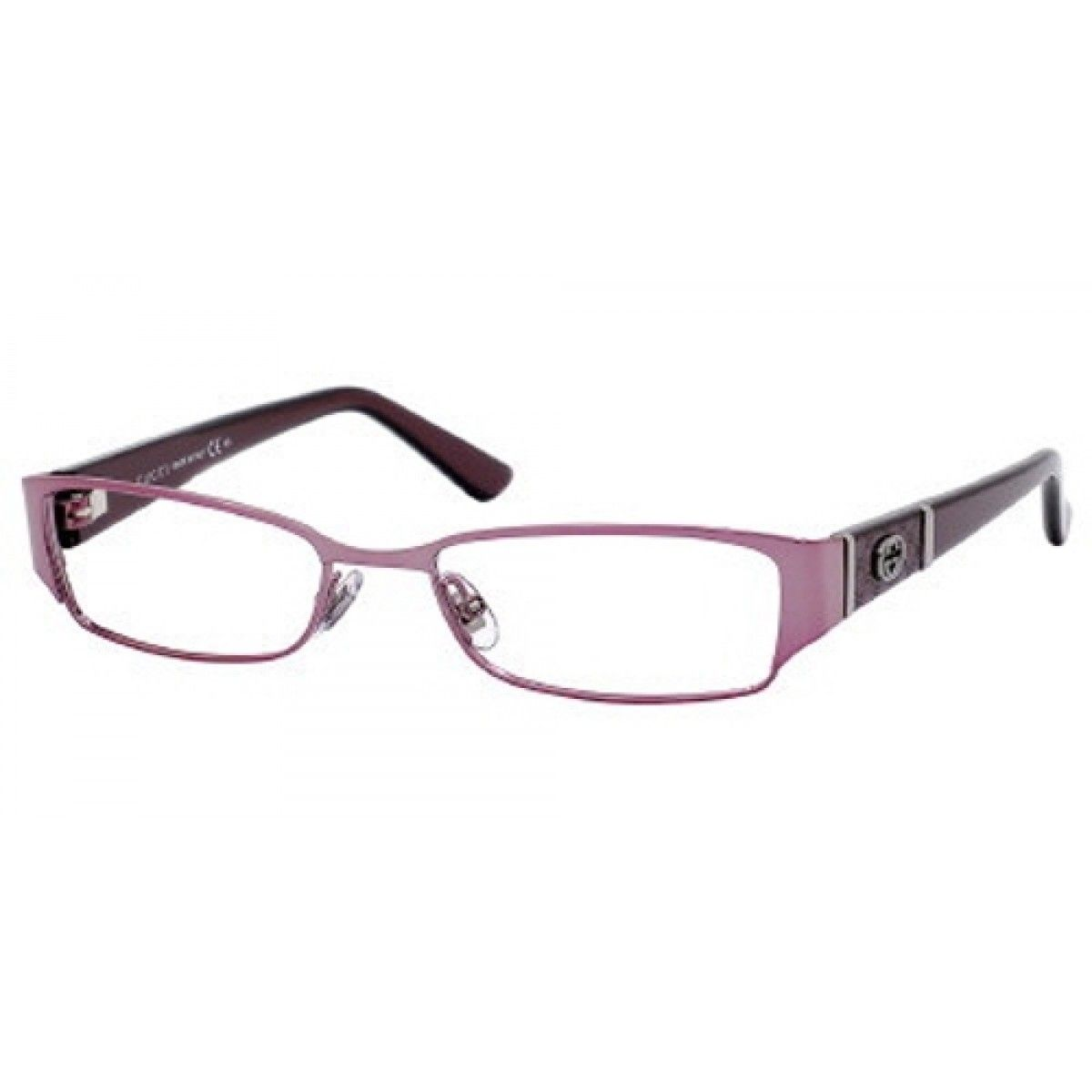 Gucci Eyewear Gucci GG2910 Eyeglasses, Pink Purple Frame ...