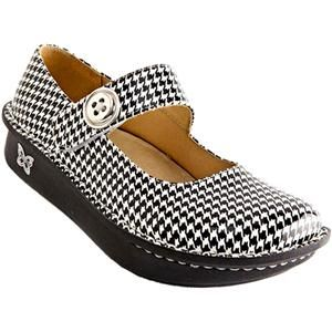 alegria paloma in houndstooth  casual shoes women