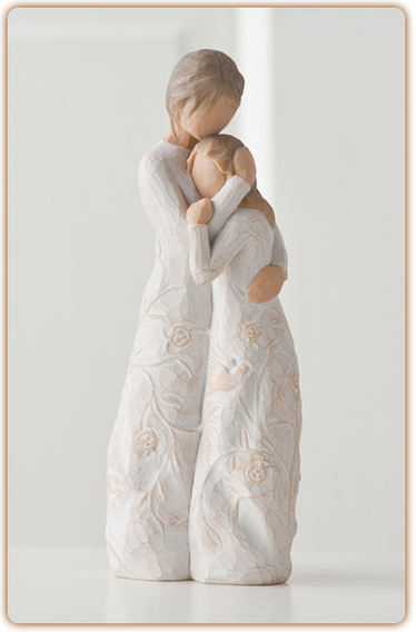 Close To Me Willow Tree Figurine Mother And Daughter