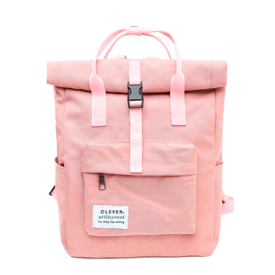 f888b94ed3 itGirl Shop CLEVER PALE CUTE COLLEGE BACKPACK Aesthetic Apparel ...