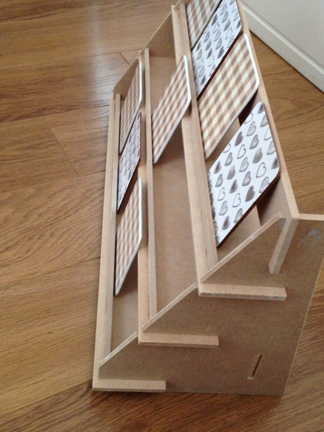 Display Stand 3 Shelf Version Flat Pack Ideal For Craft Fairs