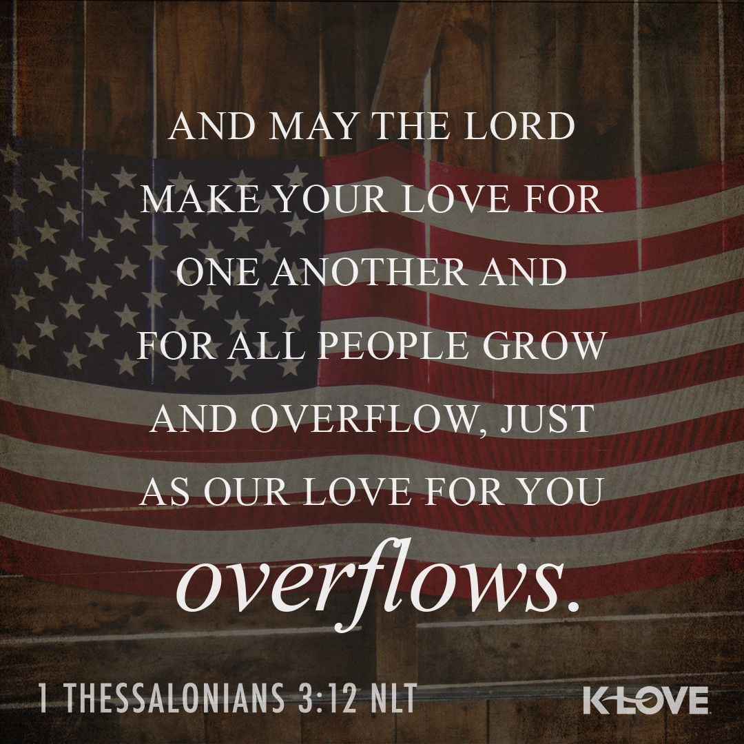 K Love S Encouraging Word And May The Lord Make Your Love For One