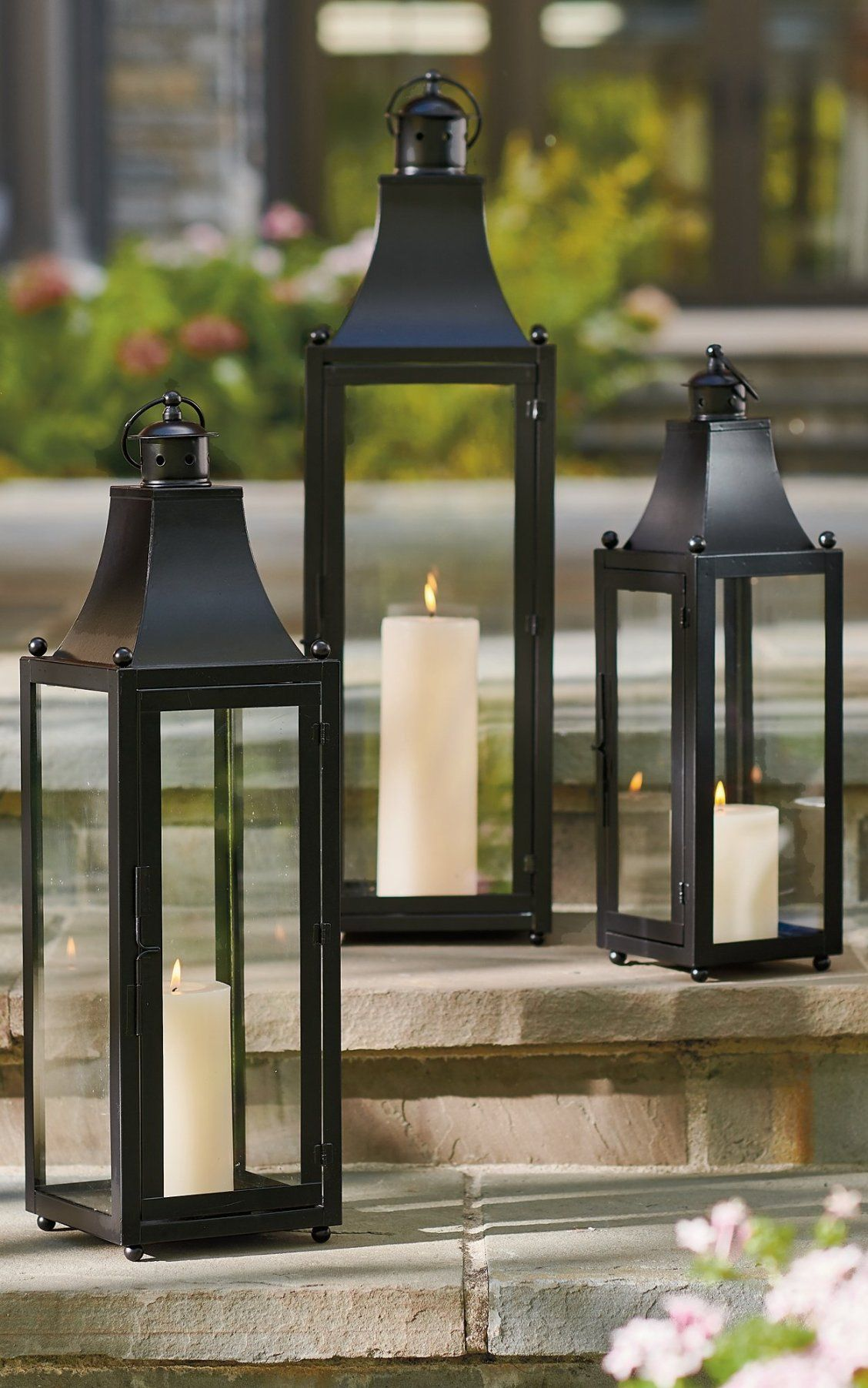 Baxter Outdoor Lantern Grandin Road Outdoor Lanterns Lanterns Outdoor Candles