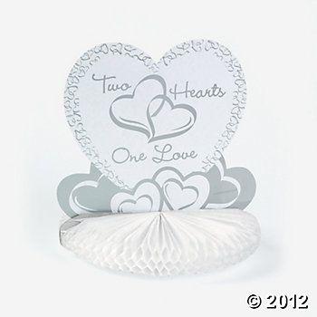 Two Hearts Wedding Centerpiece Special Wedding Wedding