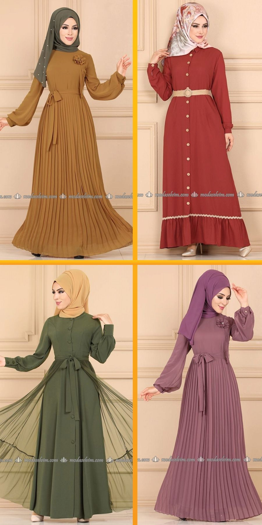 Tesettur Modasi Adli Kullanicinin Clothes And Shoes Panosundaki Pin 2020 Moda Stilleri The Dress Elbise Modelleri