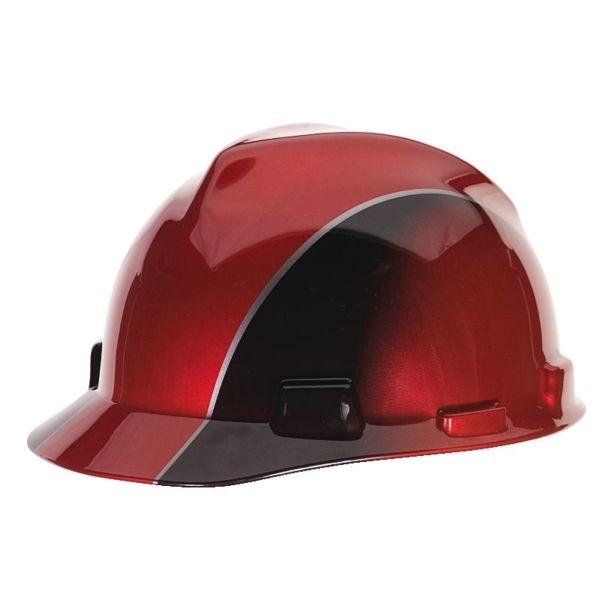 MSA Fas-Trac Suspension Hard Hat- Rally Cap | Designer Hard