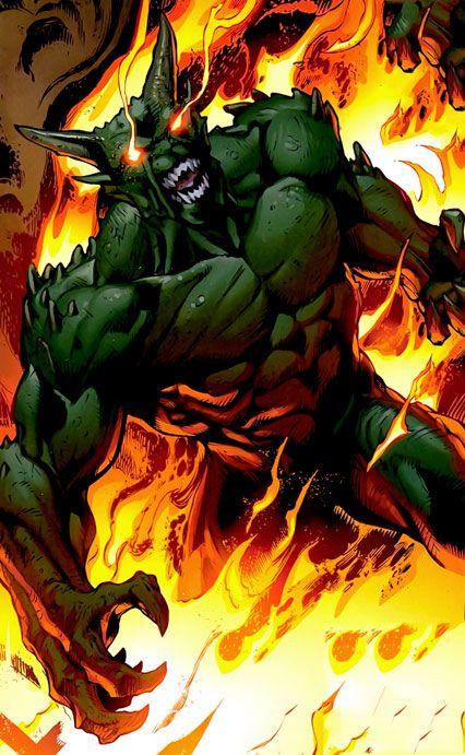 ultimate green goblin ...
