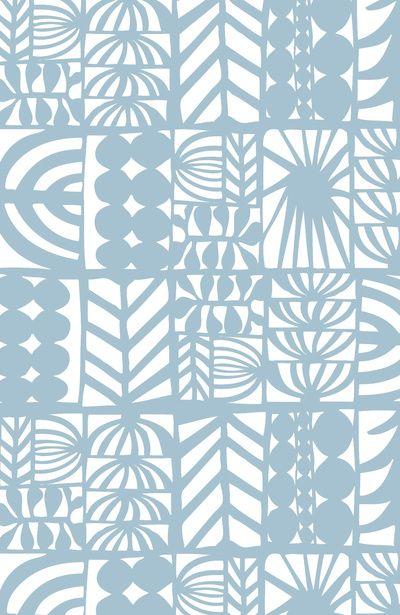 pattern, printmaking, line, one colour, repeat, block, geometric, duck egg blue, lino, printmaking, design
