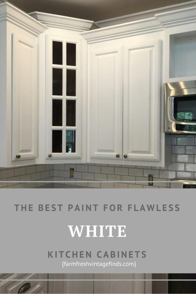 How to Achieve Flawless White Kitchen Cabinets # ...