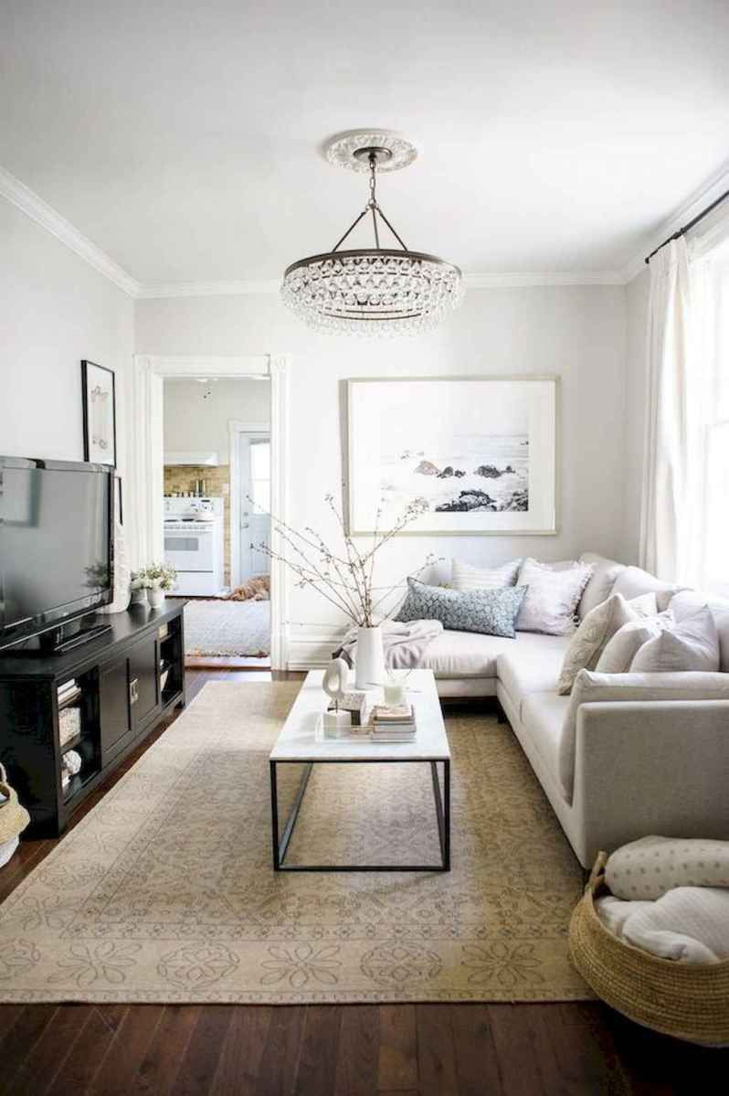 80 smart solution small apartment living room decor ideas (34 images