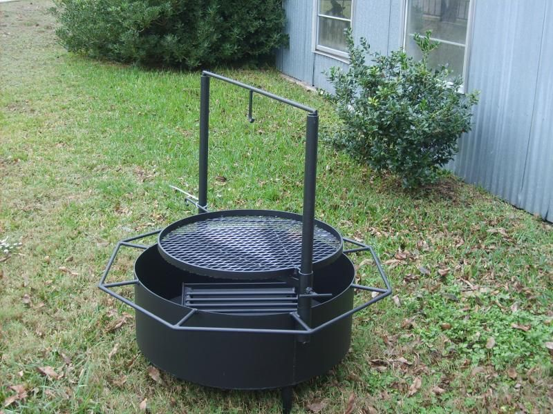 Simple Washer Drum Fire Pit (QuickCrafter) Fire pit