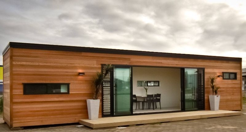 shipping container housecubular, new zealand | shipping