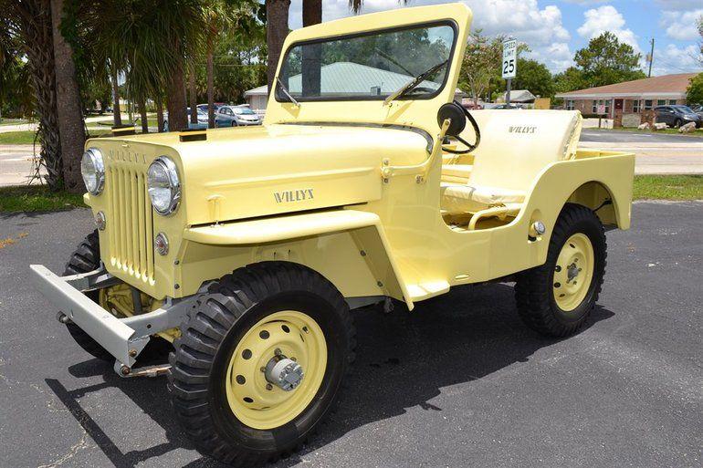 1954 Willys Cj3b Jeep Willys Willys Jeep Vintage Jeep