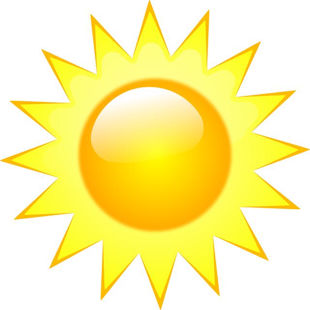 Free Image On Pixabay Sun Sunshine Sunlight Shine Weather Symbols Weather Clipart Free Clip Art