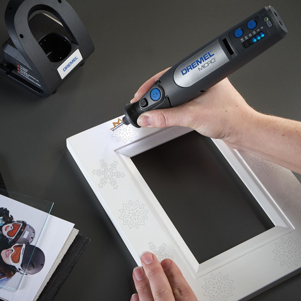 the #dremel micro 8050 is perfect for detailed engraving work. its