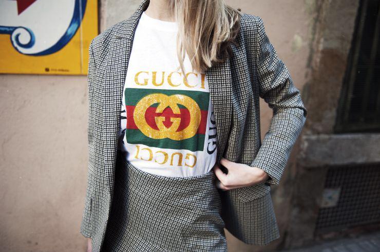 Maje checked jacket / Barcelona