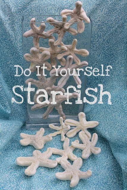Do it yourself whimsical starfish starfish whimsical and crafty diy starfish spray foam solutioingenieria Gallery