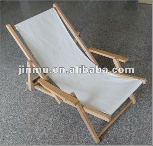 Silla plegable de madera, silla de playa - spanishalibaba