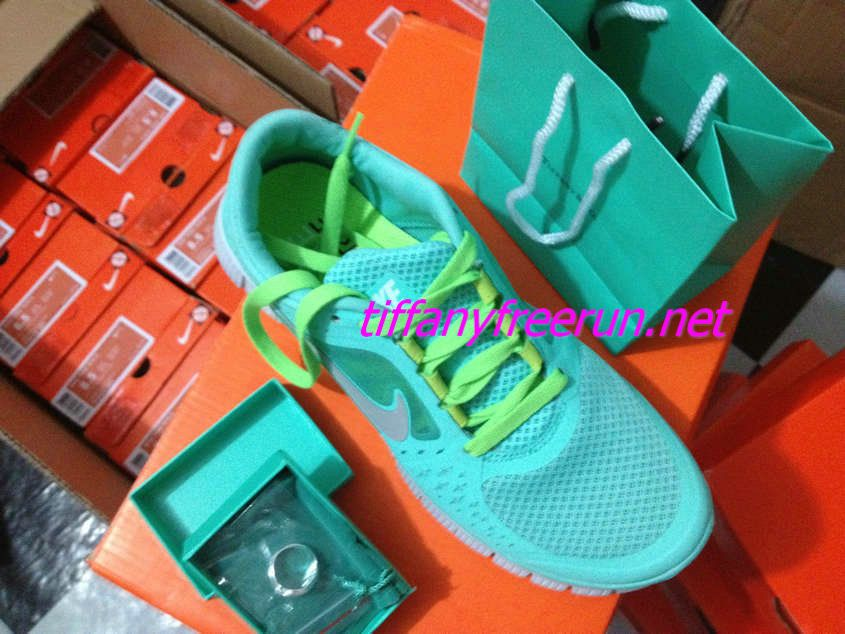 19099559995c  68.93 Cheap and cute Nike Free Run 3 Womens Tiffany Blue Silver Medium  Spring Green Lace Round Tiffany   CO Rings
