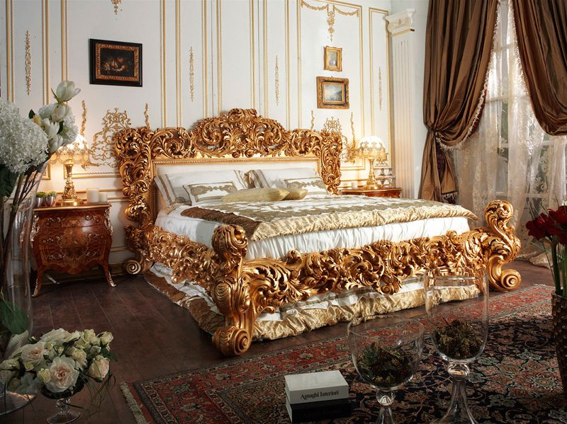 Czar Bedroom Collection Italian Hand Carved Czar Bed. Czar Bedroom Collection Italian Hand Carved Czar Bed   Ornamental