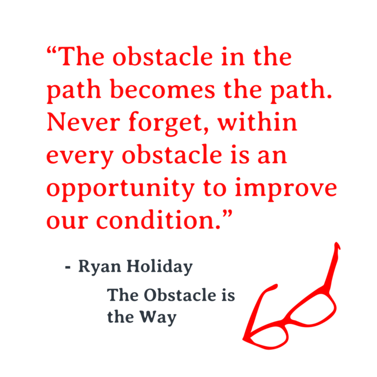 The Obstacle Is The Way By Ryan Holiday Steph S Business Bookshelf In 2020 Holiday Quotes Famous Author Quotes Inspirational Quotes