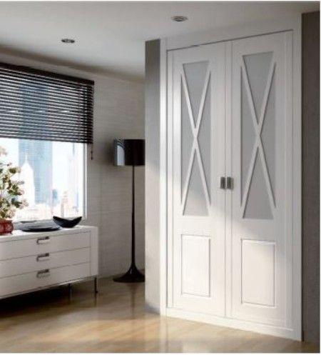 Armarios puerta batiente armarios en 2019 armarios - Interiores armarios empotrados puertas correderas ...