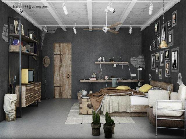 Industrial Chic   Going Raw (Interior Design Ideas) Part 69