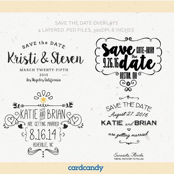 Save The Date Card Overlay Templates Overlay - Design your own save the date template