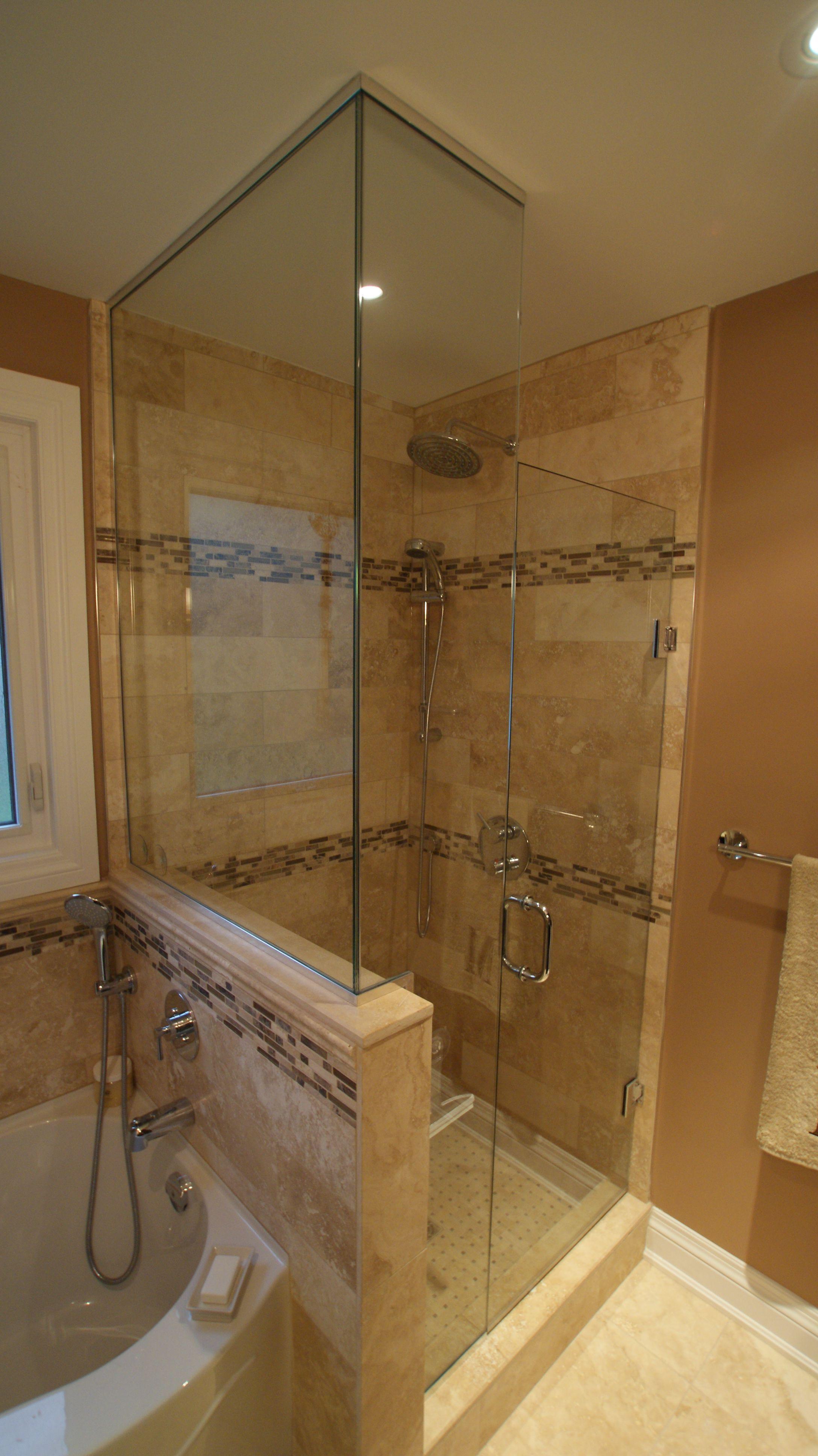 Stand Up Shower Jacuzzi Tub Bathroom Design Small Jet Tub