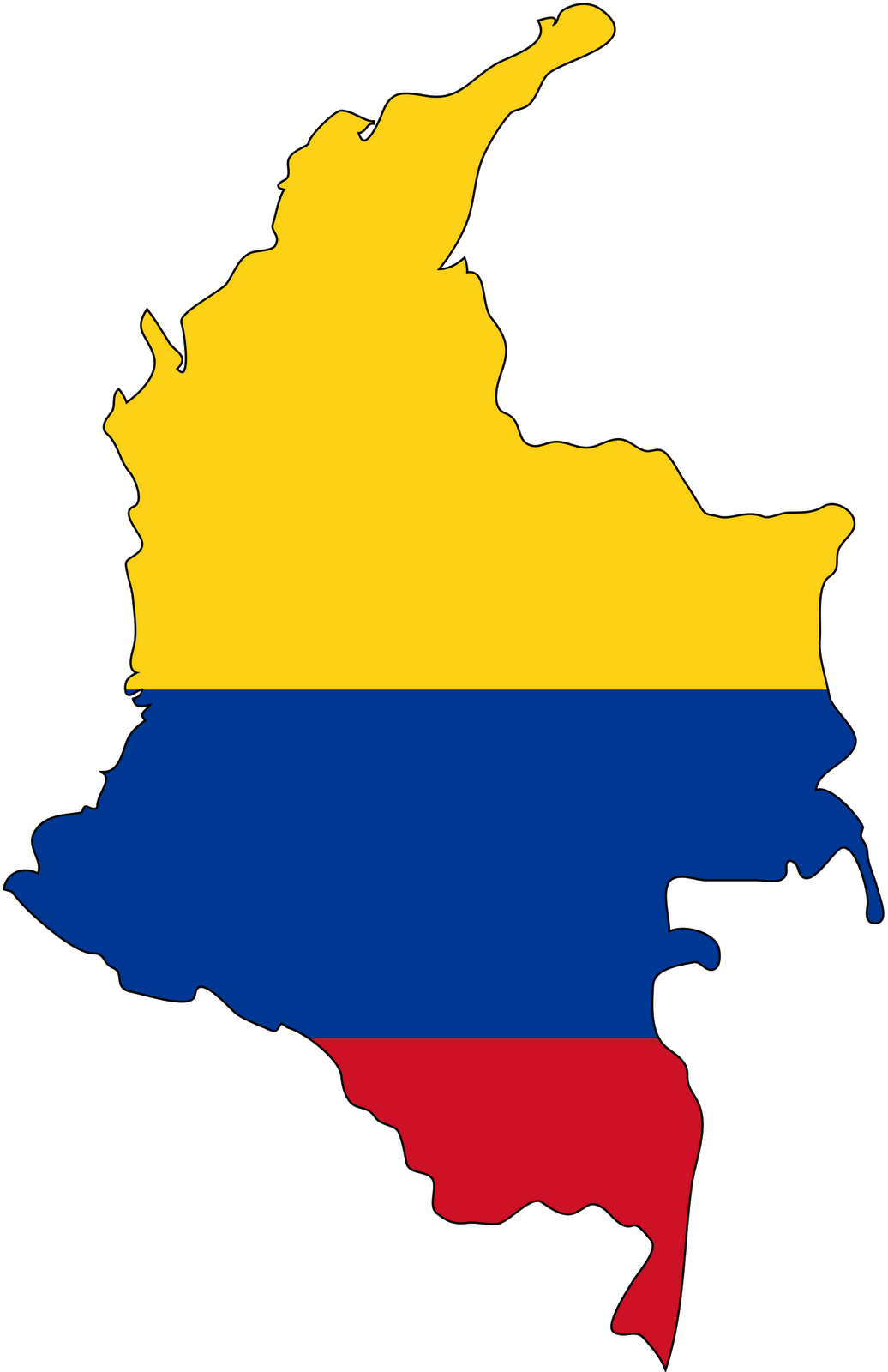 4613243c1 Colombia Map & Flag Colors | ~ TRAVELING IN COLOURS ~ | Colombia ...