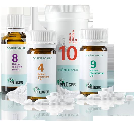 Schüßler Salz Nr 4 8 9 Und 10 Biochemie Pflüger Things To
