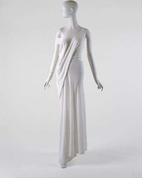 Designer: Ann Demeulemeester (Belgian, born 1959) Department Store: Barneys New York (American, founded 1923) Date: spring/summer 1997 Culture: Belgian Medium: rayon