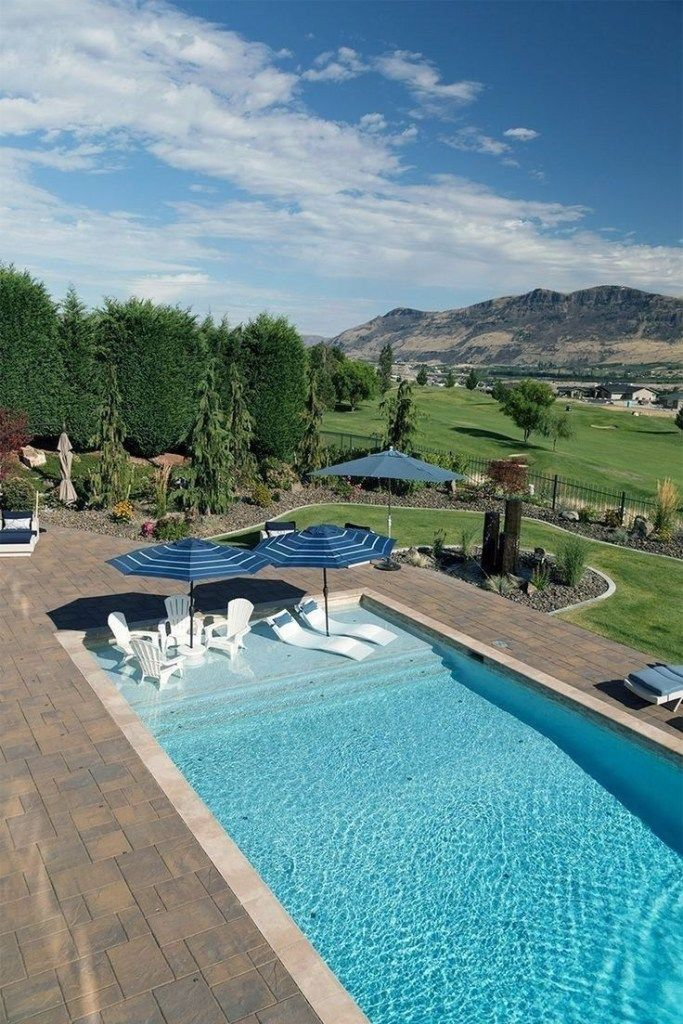 12 garden design Modern swimming pools ideas