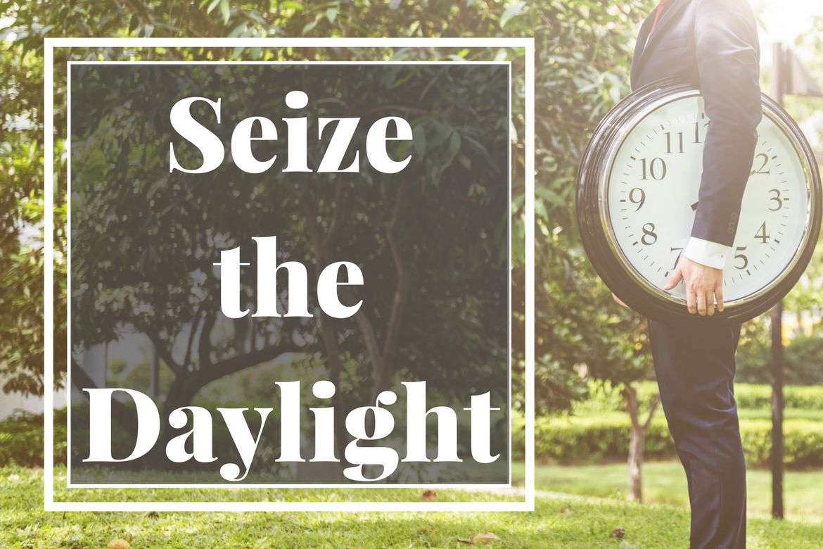 It S Daylight Savings Time And We Know You Re Hurrying To