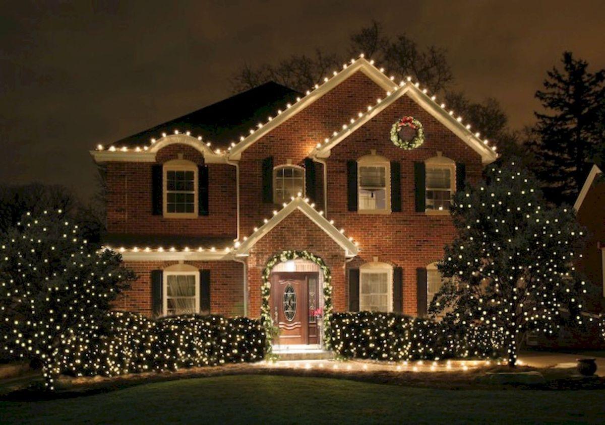 35 Beautiful Christmas Decorations Outdoor Lights Ideas 3