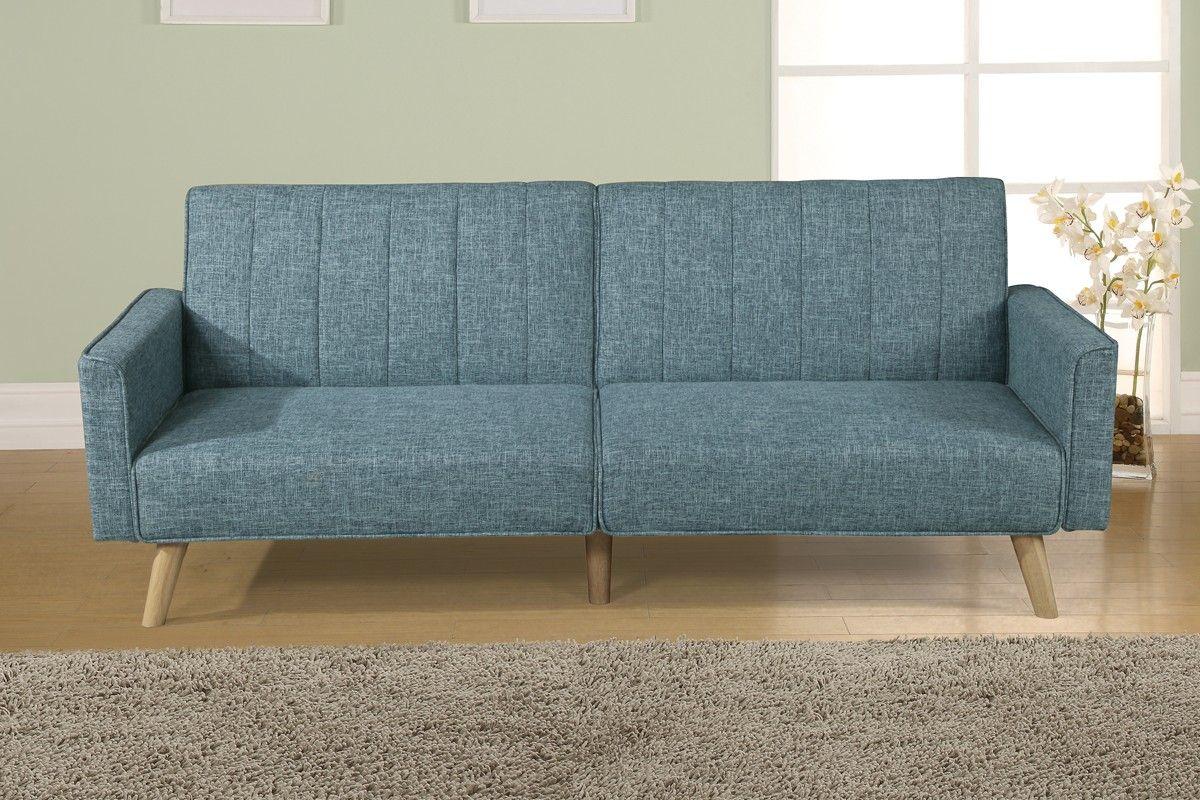 Carson Carrington Slavonice Grey Linen Futon With Images Furniture