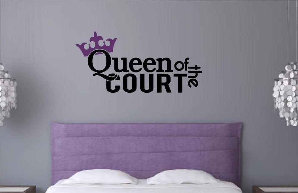 Queen Transfer Sticker Decal  Wall