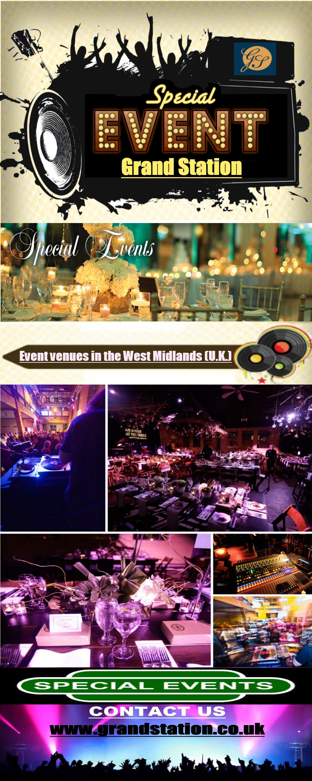 Grand Station Venue Is A Most Famous Event Place In Wolverhampton