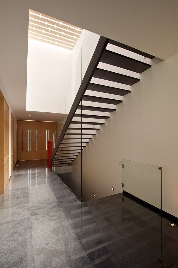 Casa  by ricardo agraz inside design modern architecture home and family stairs also best my head images architectural drawings rh pinterest
