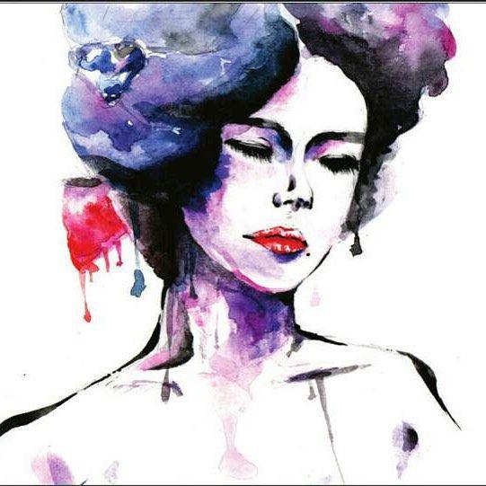Sadness and beauty (no effects) #일러스트 #illustration #watercolor #인물화 #watercolor #watercolour #drawing #design #cartoon #포트폴리오 #portfolio #korean #dailydrawing #TalentedPeopleInc by minkyu_88