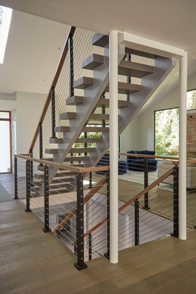 Open Concept Staircase for New York Home - Viewrail ...